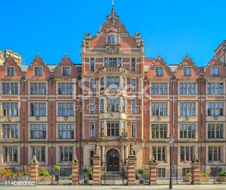 Formerly Her Majesty's Land Registry building, now housing London School of Economics' Department of Economics
