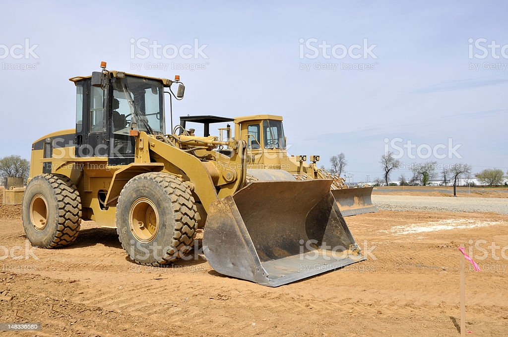 frontend loader stock photo