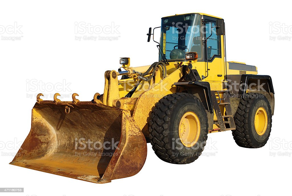 Front-End Loader royalty-free stock photo