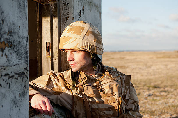 frontline soldier - uk military stock photos and pictures