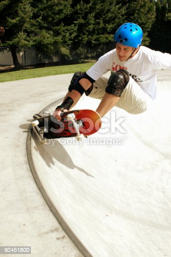 istock Frontside Grab - Dave 92451800