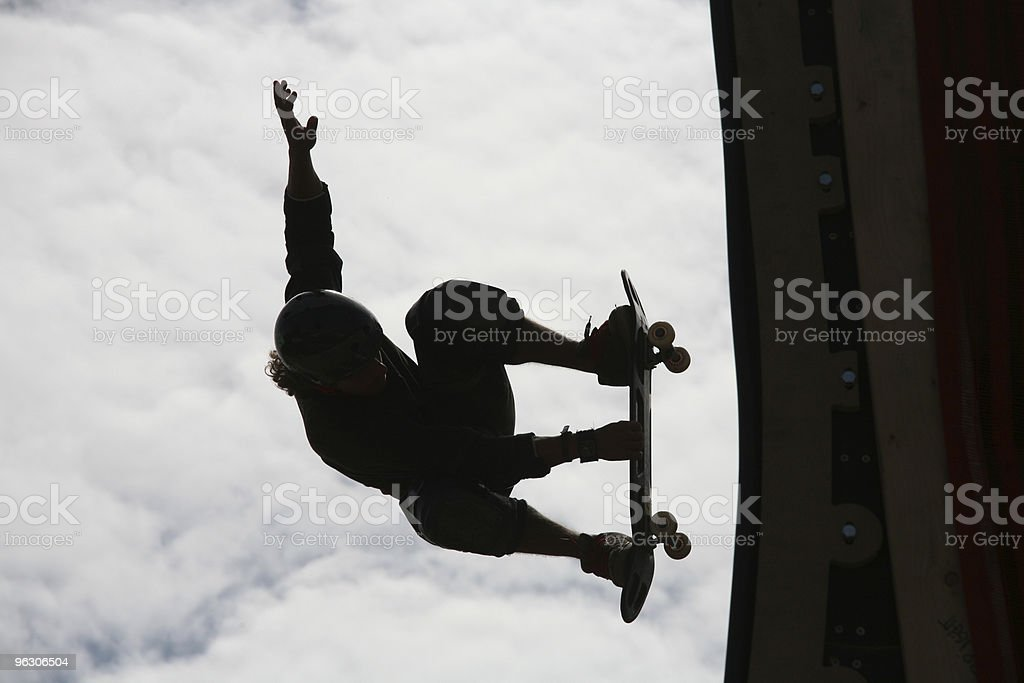 Frontside Grab royalty-free stock photo
