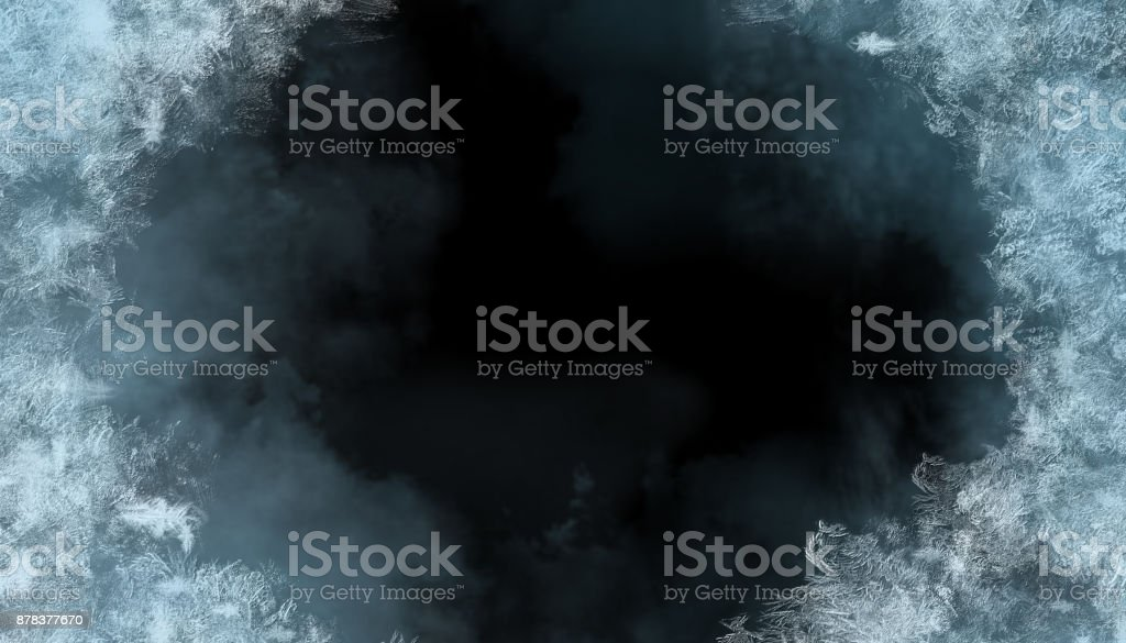 Frost Background stock photo