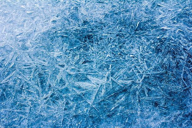 Frost, ice. Texture of ice stock photo