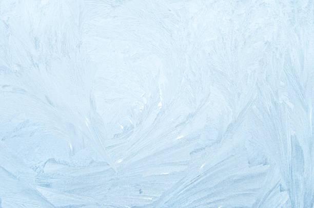 frost sur fenêtre - glaçage photos et images de collection