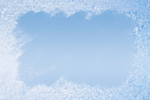 With space for text. Useful as discreet background for winterly greeting cards.