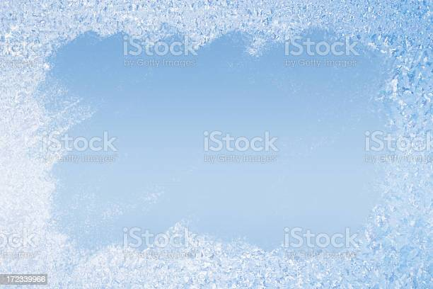 Frost Pattern Background Stock Photo - Download Image Now