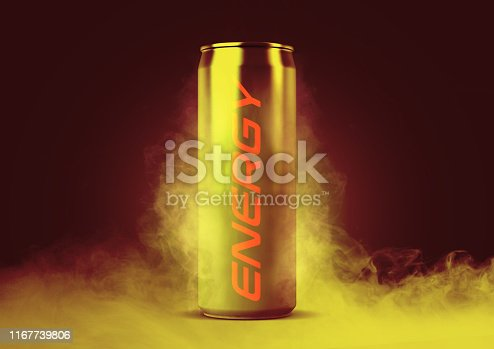istock Frosted Energy Drink Can 1167739806