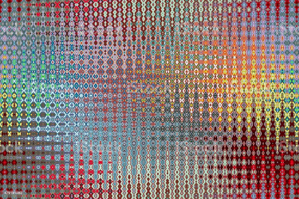 Frosted Glass Design at Colors - Diseño  Cristal Esmerilado stock photo
