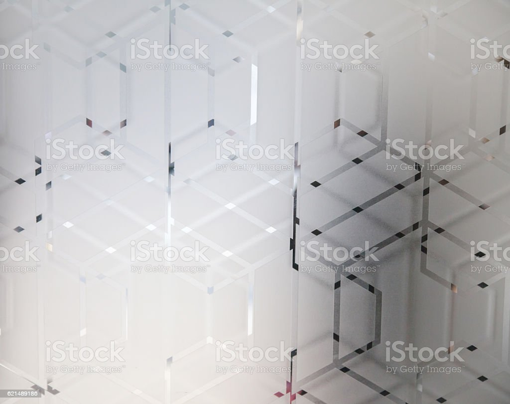 Frosted glass texture background natural light photo libre de droits