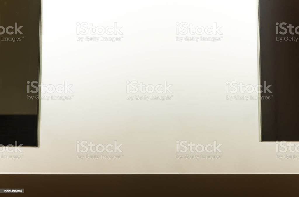 Frosted glass wall. vector art illustration