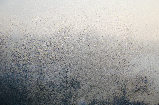 Frosted On Glasses Or Mirror Fogged Up Stock Photo - Download Image Now