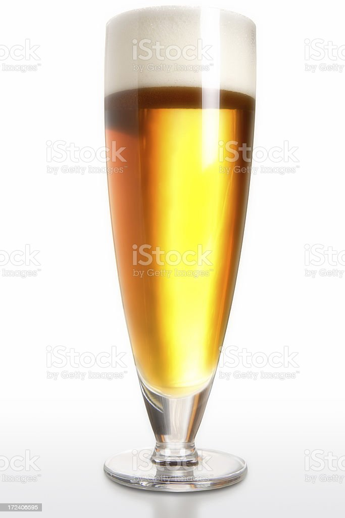Frosted Stylish Beer royalty-free stock photo