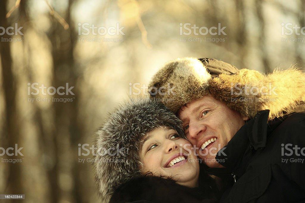 frosty day royalty-free stock photo