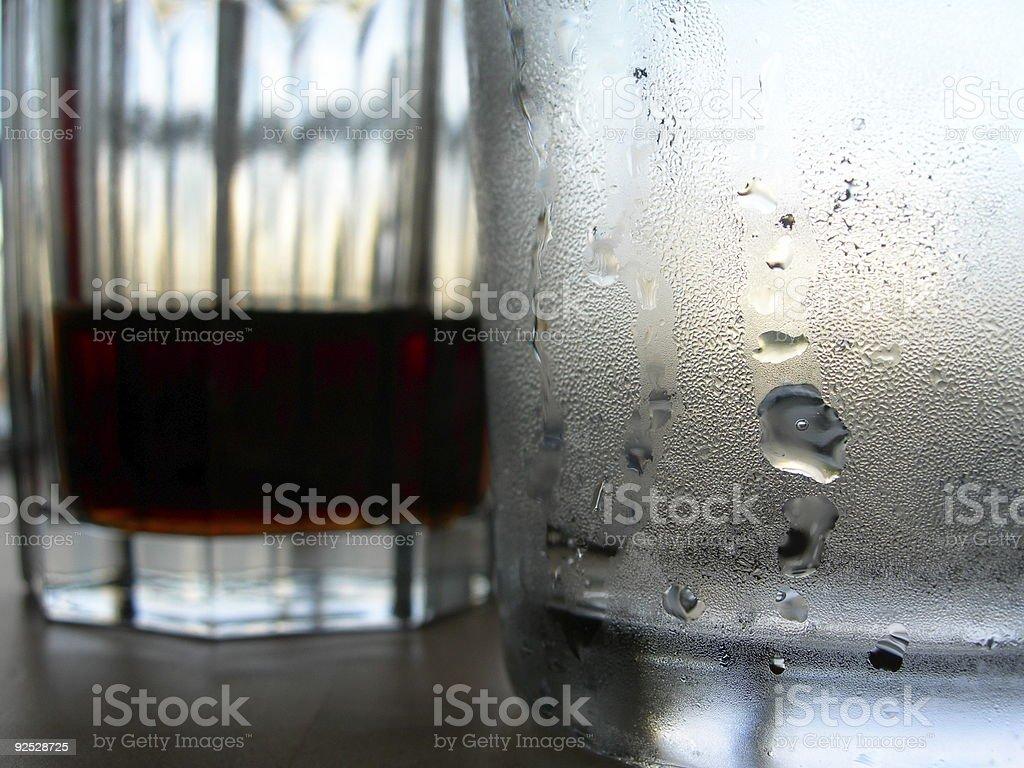 Frosty drink royalty-free stock photo
