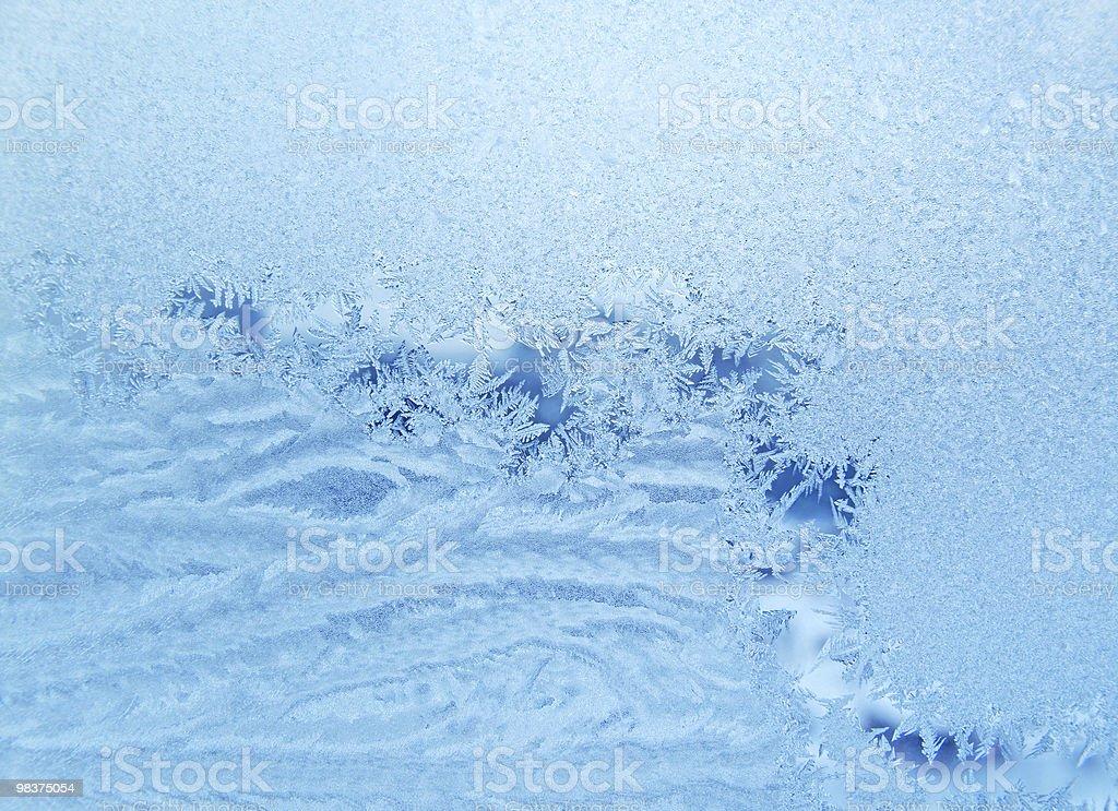 frosty 자연스럽다 패턴 royalty-free 스톡 사진
