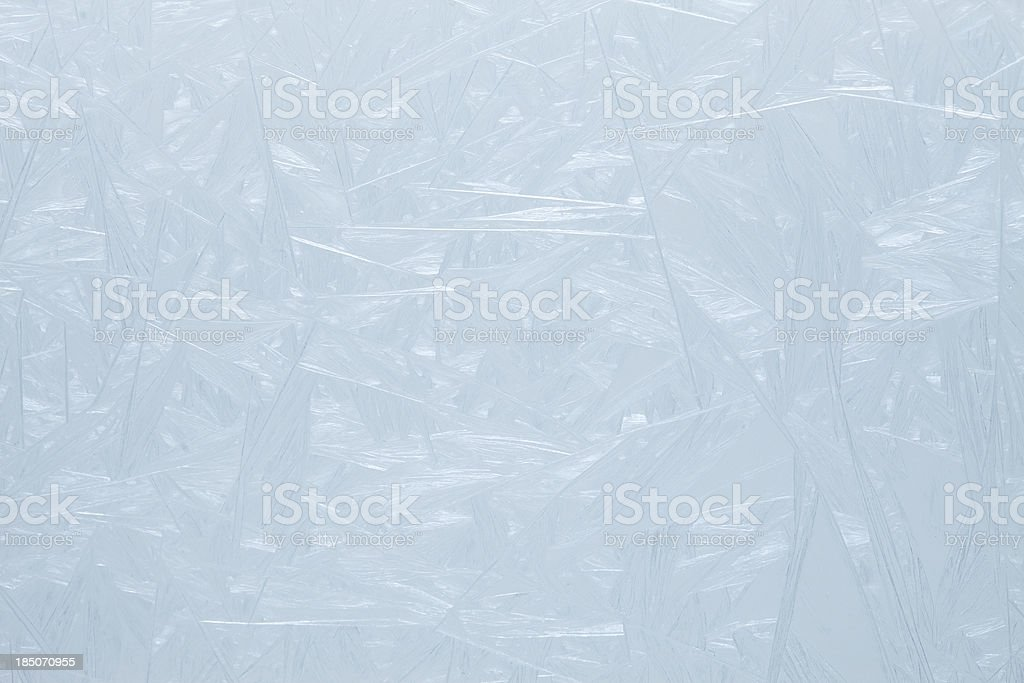 Frosty pattern on the glass. royalty-free stock photo