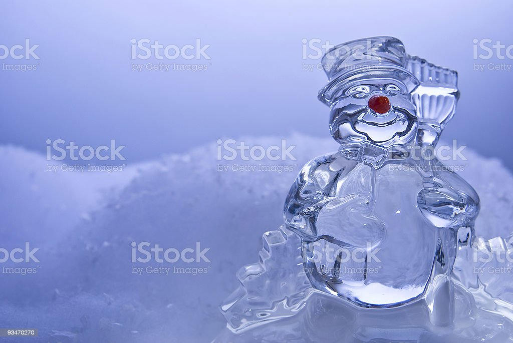 Frosty the Snowman royalty-free stock photo