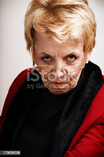 istock Frowning senior woman 170639208