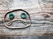 Frowny Face Rubber Bands