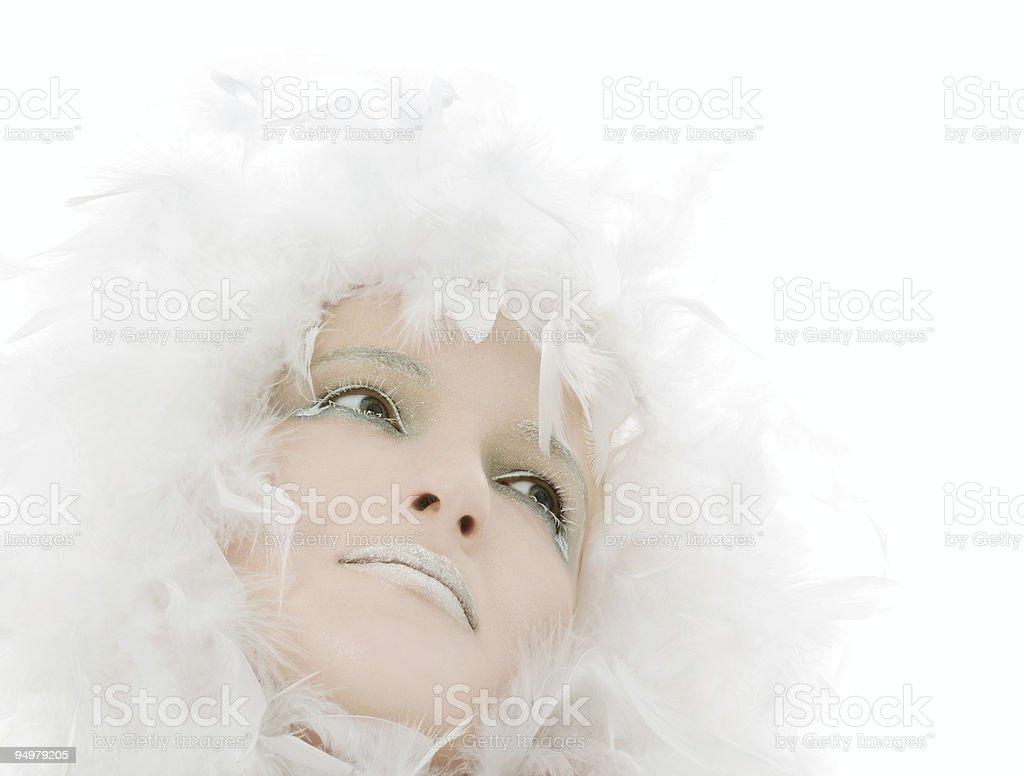 frozen beauty royalty-free stock photo