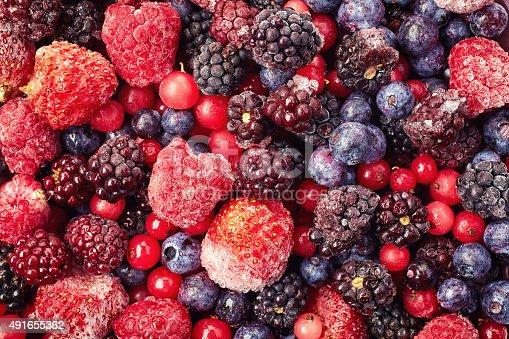 istock Frozen berries 491655362
