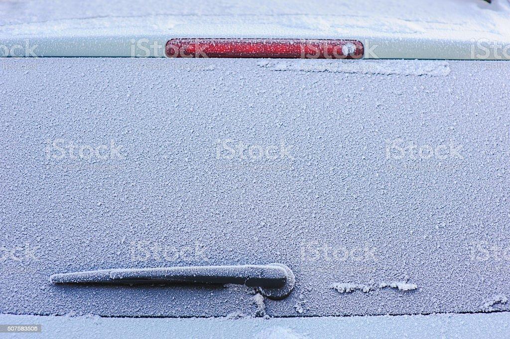 Gefrorene Auto Fenster – Foto
