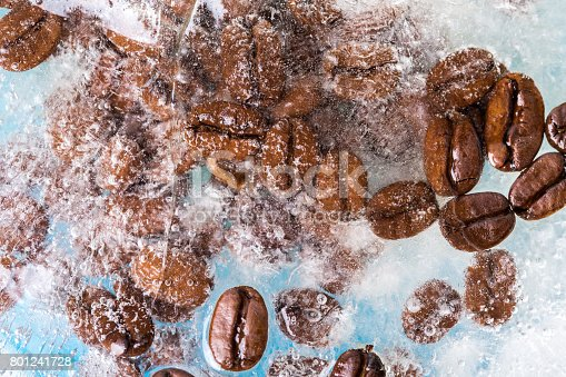 602301342istockphoto Iced Coffee With Coffee Beans