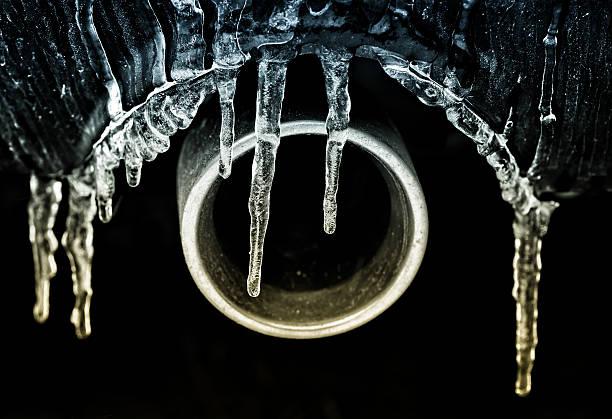Frozen Exhaust stock photo