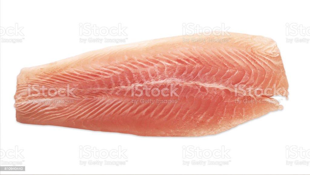 Filetes de peixe congelados - foto de acervo