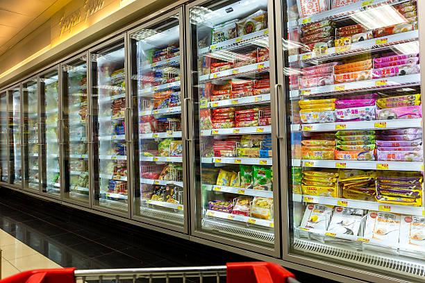 comida congelada - comida congelada - fotografias e filmes do acervo