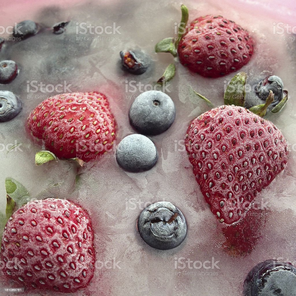 Frozen Fruit royalty-free stock photo