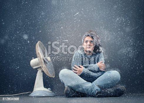 istock Frozen girl 512804568