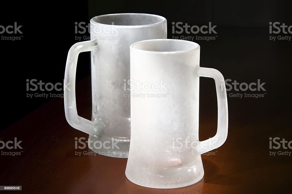 frozen glasses royalty-free stock photo