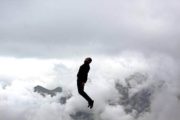 Gefrorene jump – Foto