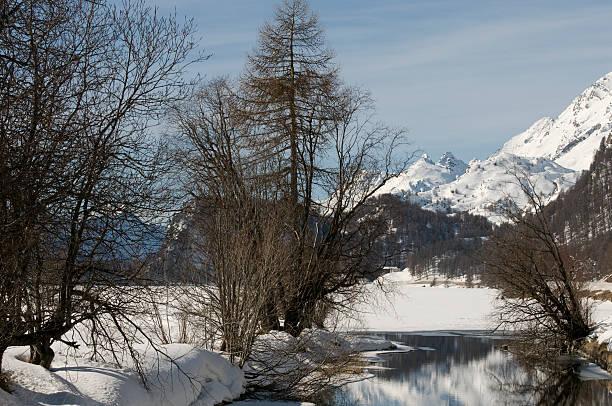 frozen see - patrick hutter stock-fotos und bilder