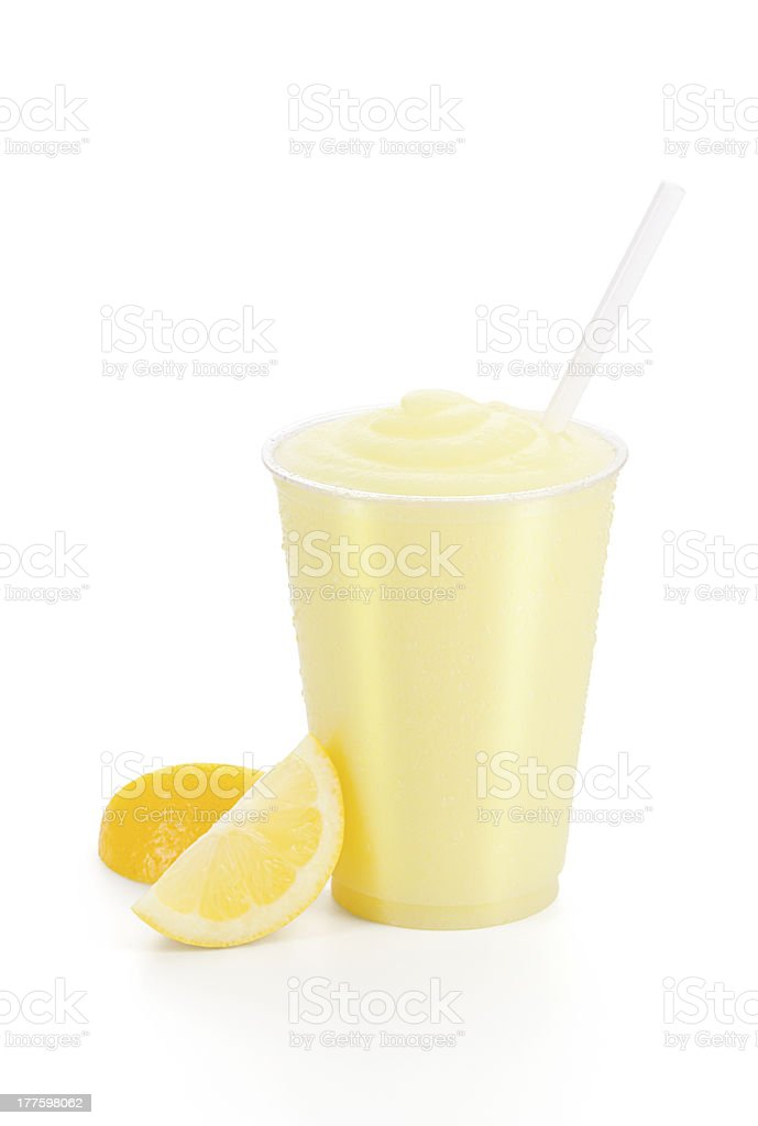 Frozen Lemonade with Lemons stock photo