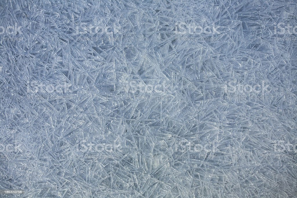 Frozen pattern royalty-free stock photo