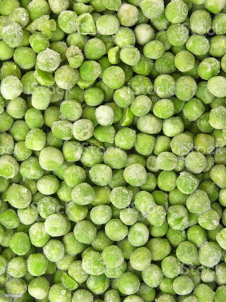 Frozen peas background royalty-free stock photo