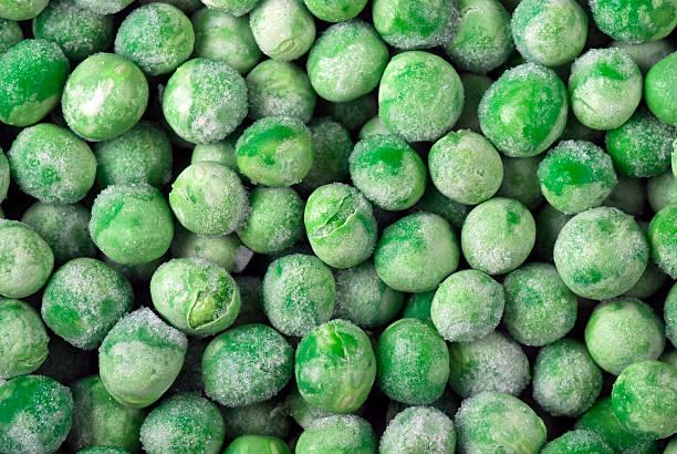 Frozen Peas bildbanksfoto