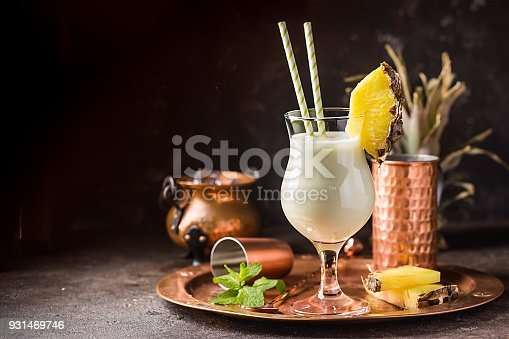 istock Frozen Pina Colada Cocktail 931469746