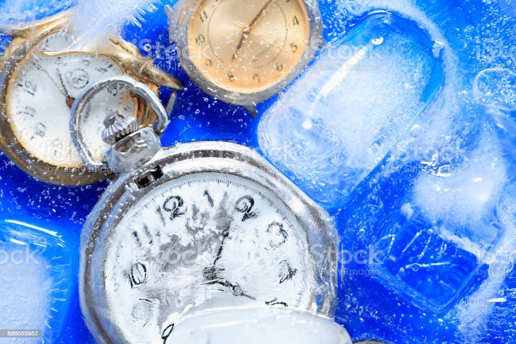 Frozen Time Concept foto stock royalty-free