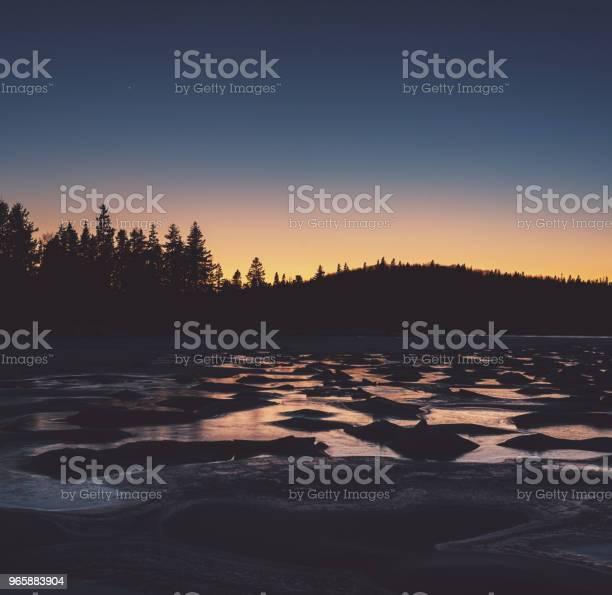 Замороженные Сумерки — стоковые фотографии и другие картинки Атлантический океан