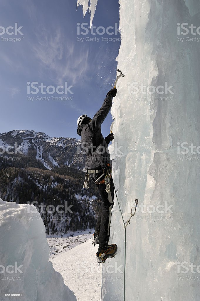 Frozen vertical royalty-free stock photo