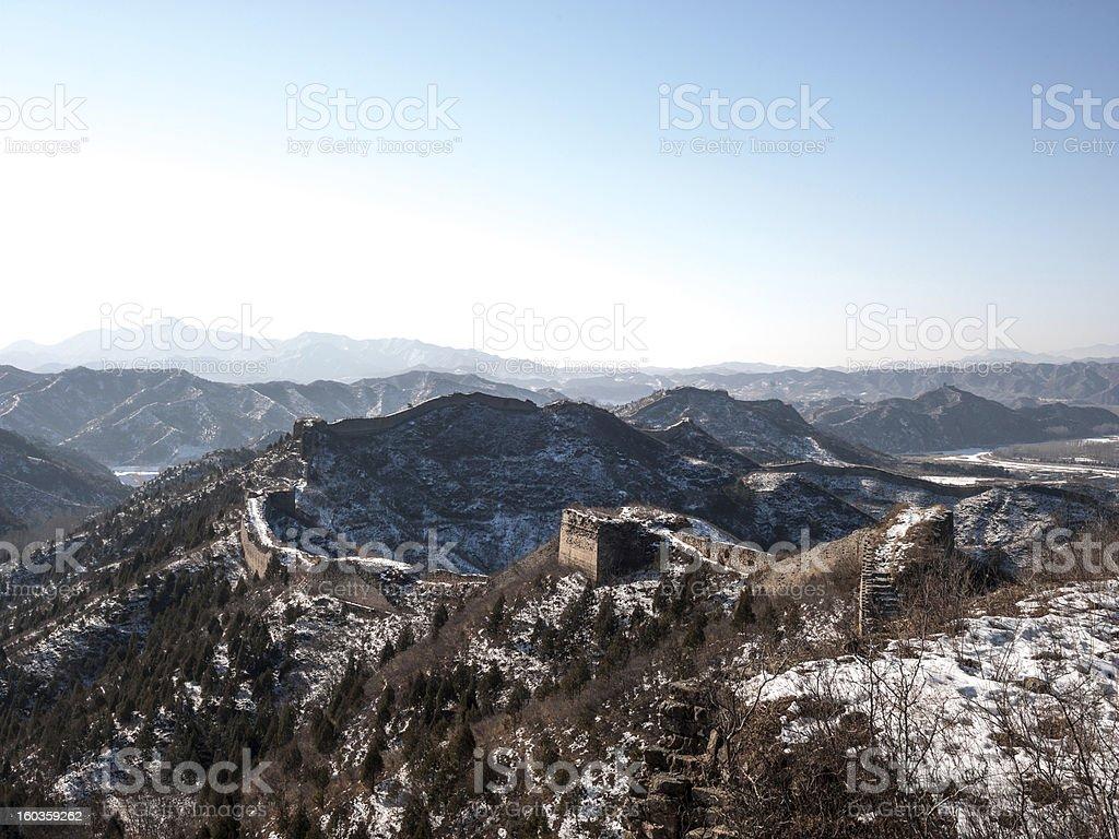 Frozen Wall royalty-free stock photo