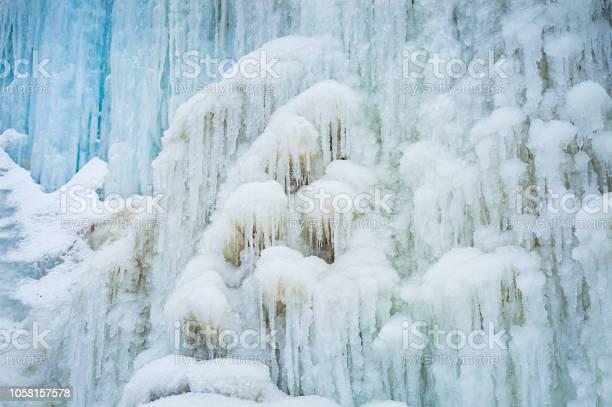 Photo of Frozen waterfall