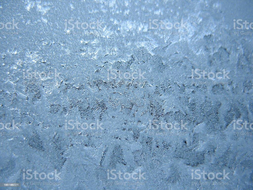 frozen winter window royalty-free stock photo