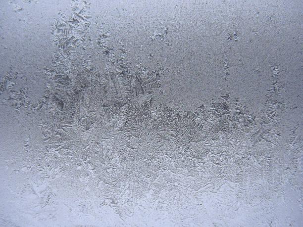 Gefrorene winter Fenster – Foto
