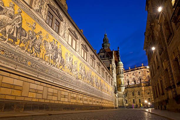 Fürstenzug Mosiac, Dresden