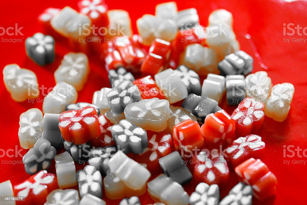 Fruchtgummi-Konfekt stock photo